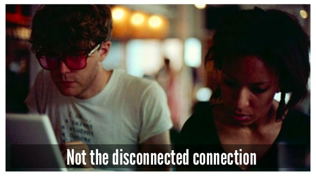 Not the disconnected connection