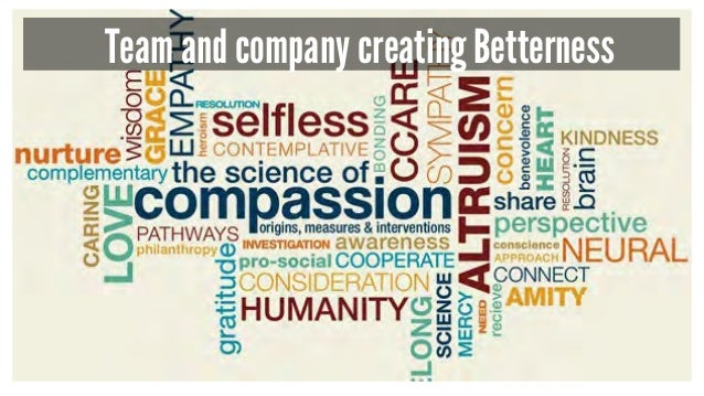 Team and company creating Betterness