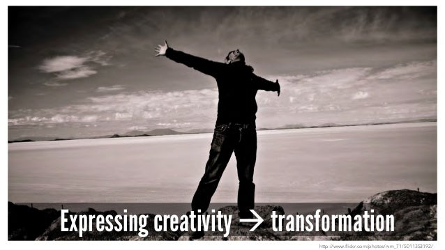 Expressing creativity à transformation http://www.flickr.com/photos/rvm_71/5011353192/