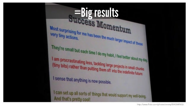 =Big results http://www.flickr.com/photos/anetq/8543069503/