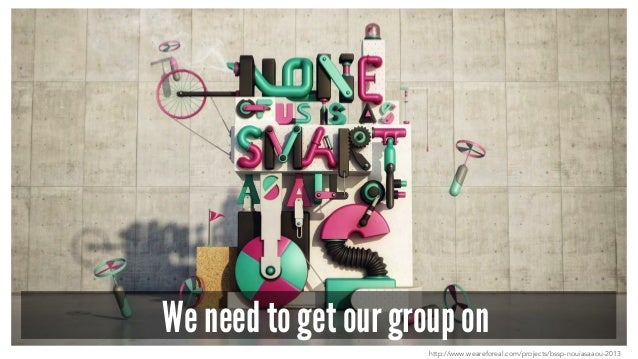 We need to get our group on http://www.weareforeal.com/projects/bssp-nouiasaaou-2013