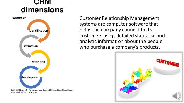 customer relationship dimensions