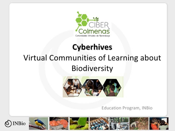 Cyberhives Virtual Communities of Learning about Biodiversity Education Program, INBio