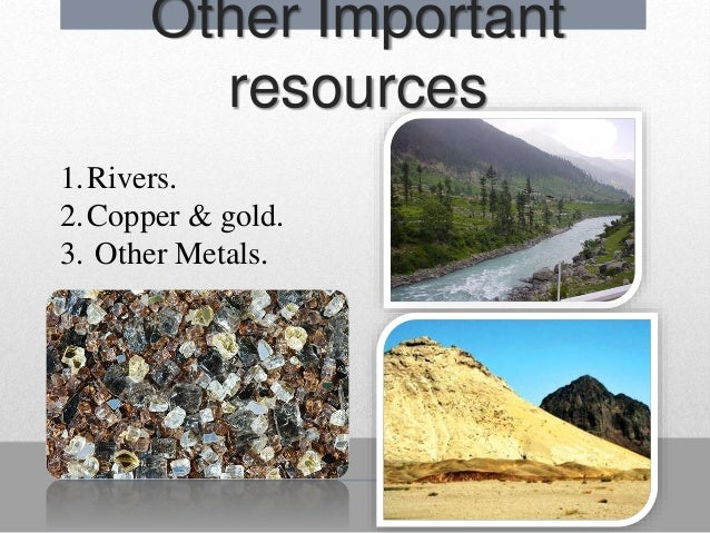 pakistan rich in natural resources but