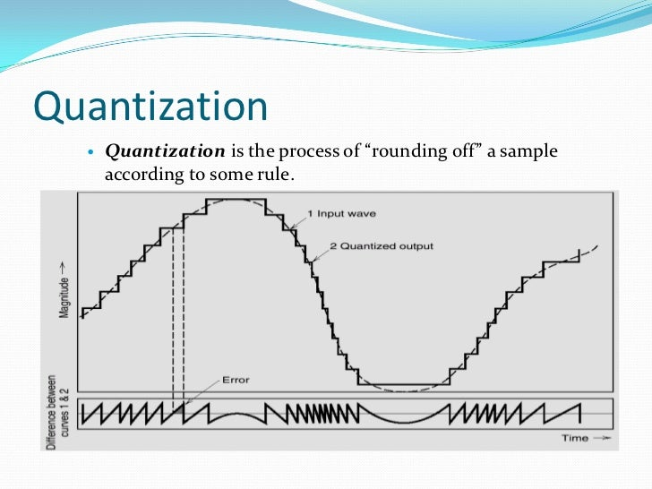 quantization process Quantization process pdf 3in order to demonstrate basic principles, the pdf is assumed to be for aquantization is the process of mapping a continuous or discrete scalar or vector.