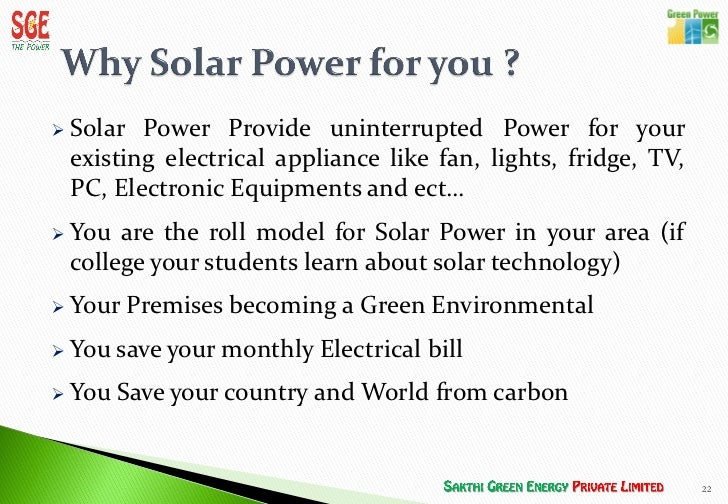 The Ultimate Renewable Resource Solar Power