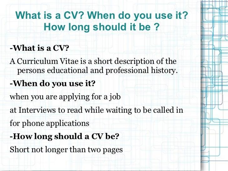 Presentation cv Slide 3