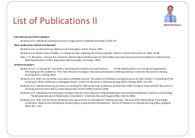 presentation cv 2013