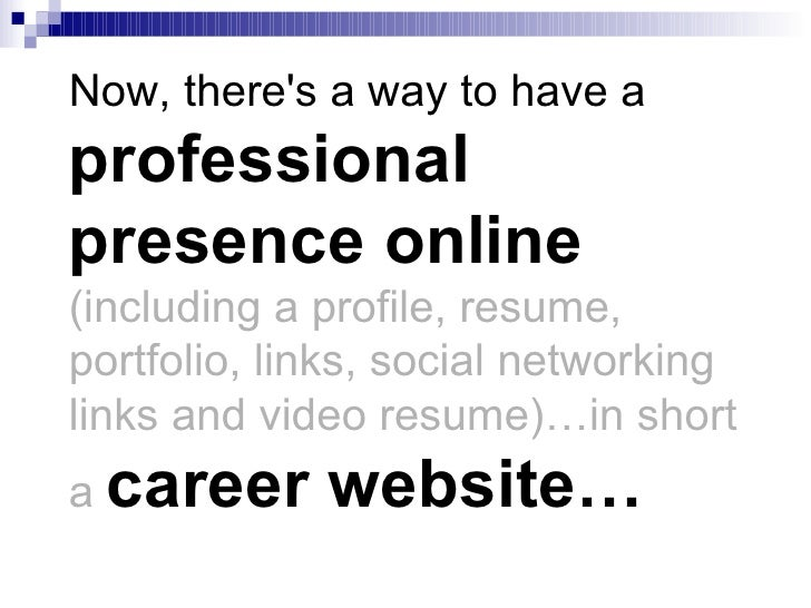 turn your cv or resume into a website