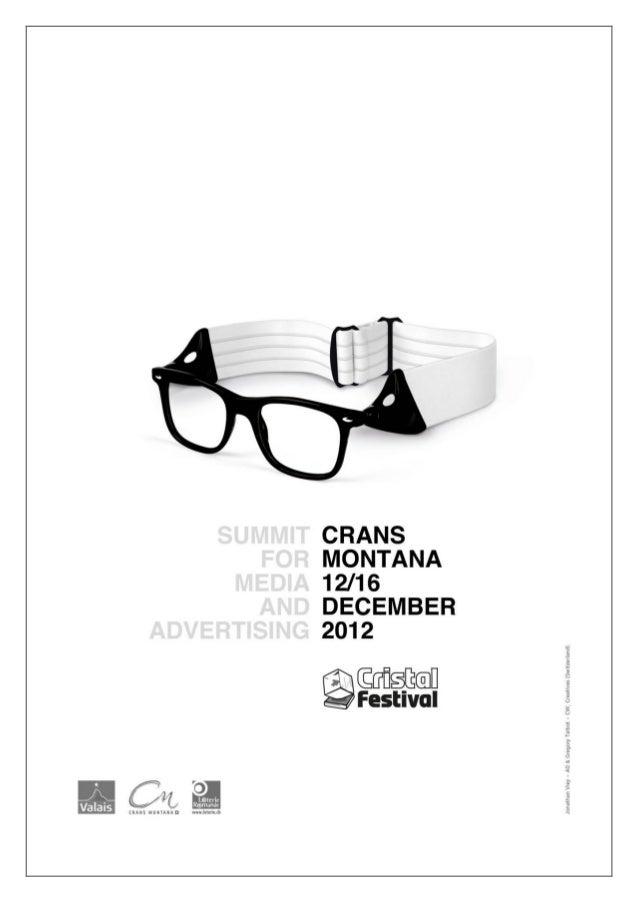 12IEME EDITION                12/16 DECEMBRE 2012Marketing & Data Cristal Academy   Compétition Future is now             ...