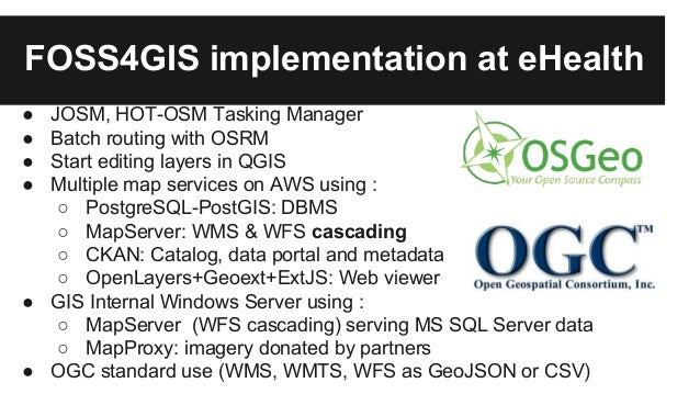 Open Source Gis Stack Data Hub For Flexibility