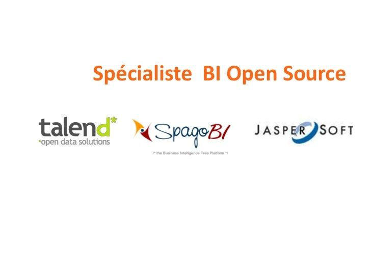 Spécialiste BI Open Source