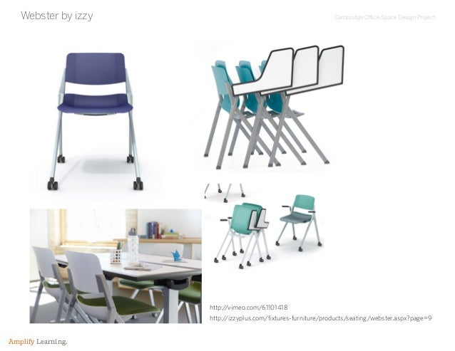 Cambridge Office Space Design Project Amplify Learning. Webster by izzy http://izzyplus.com/fixtures-furniture/products/se...
