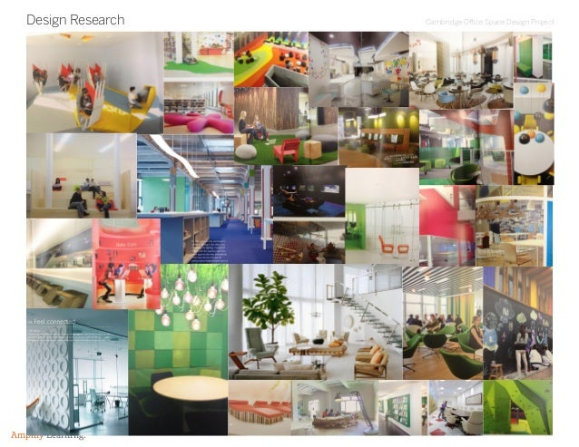 Cambridge Office Space Design Project Amplify Learning. Design Research