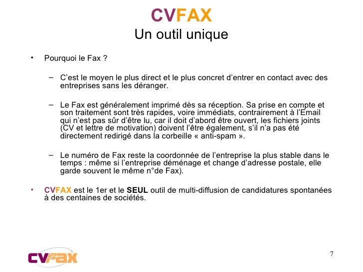<ul><li>Pourquoi le Fax ?  </li></ul><ul><ul><li>C'est le moyen le plus direct et le plus concret d'entrer en contact avec...
