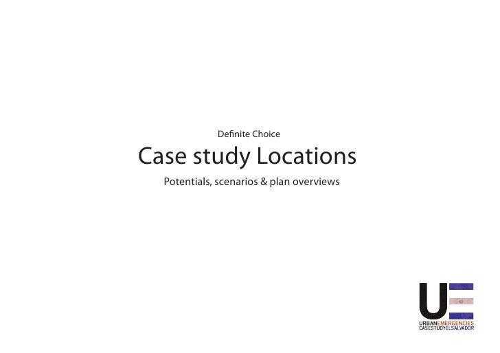 Case studyChoice                                                                     De nite location                     ...