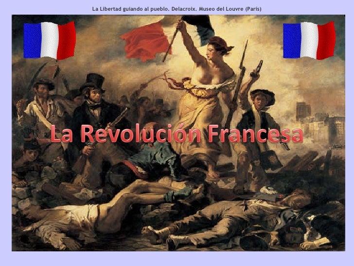 La Libertad guiando al pueblo. Delacroix. Museo del Louvre (París)