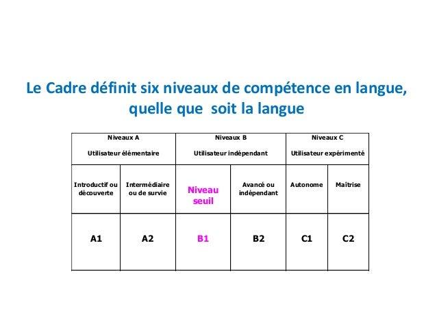 niveau A B C Delf Dalf