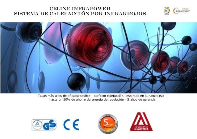 Presentation del mejor calefaccion por infrarrojes en - Mejor sistema de calefaccion electrica ...