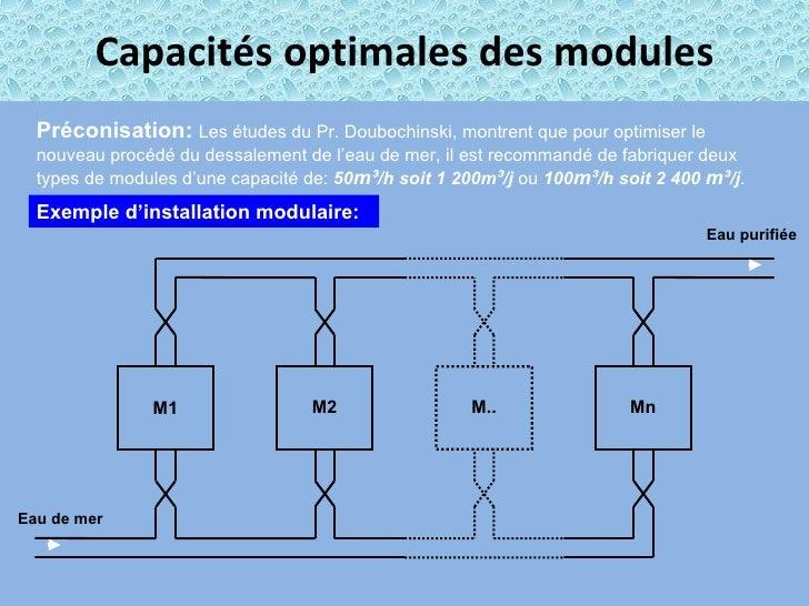 Presentation Desalinisation Fr