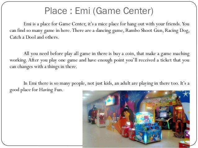 Descriptive Text About Place Person Dan Thing