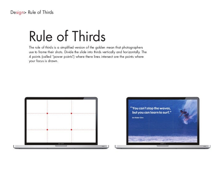 Design> Final Thought     Final Thought For those who have Keynote, and especially because we are an Apple agency, we shou...