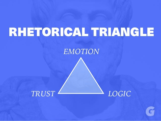 RHETORICAL TRIANGLE EMOTION LOGICTRUST