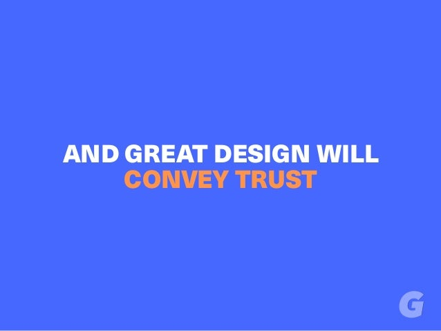 AND GREAT DESIGN WILL CONVEY TRUST