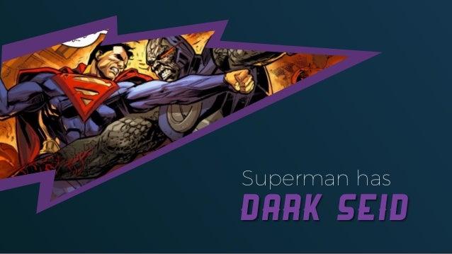 Superman has Dark Seid