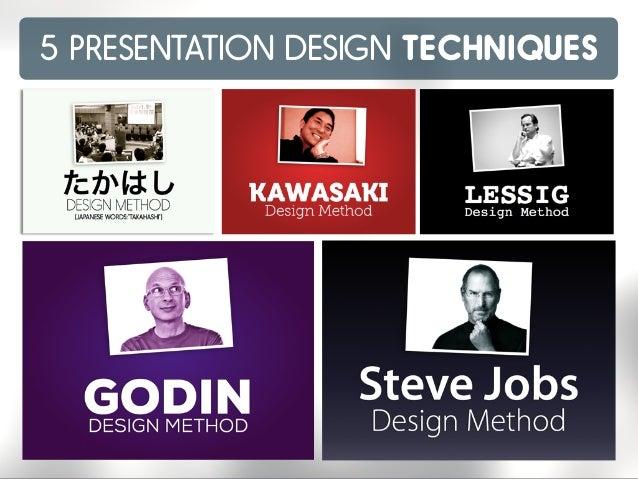 5 PRESENTATION DESIGN TECHNIQUES