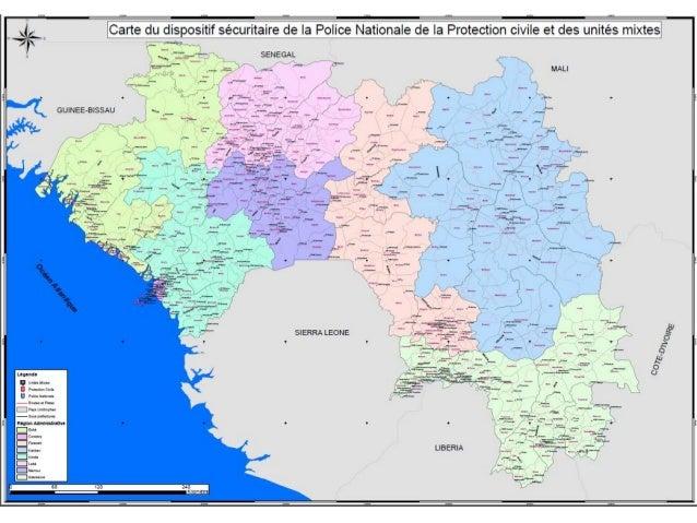 La cartographie du dispositif sécuritaire POLICE GENDARMERIE Nombre d'unités recensées 505 478 % des unités en logement ru...