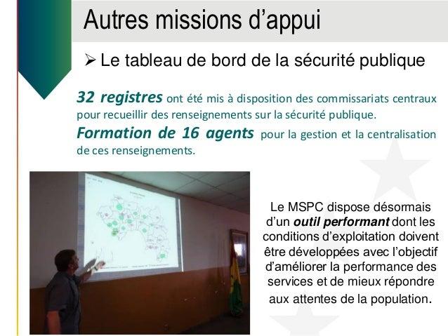 Autres missions d'appui  Appui à la rédaction de la politique Nationale de gestion des risques et des catastrophes La PNG...