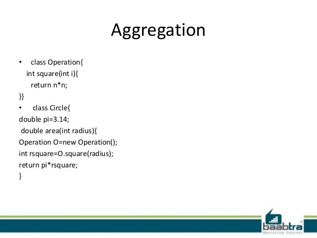 Association, composition and aggregation in java geeksforgeeks.