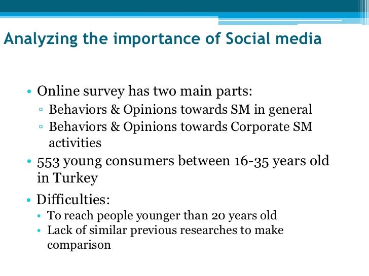 Social media survey age range 13 17