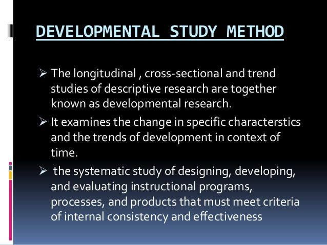 descriptive method Case study method this module describes the case study method of descriptive research and its uses learning objectives: define case study research.