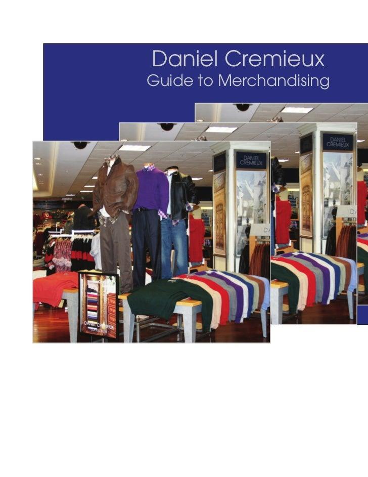 Daniel CremieuxGuide to Merchandising