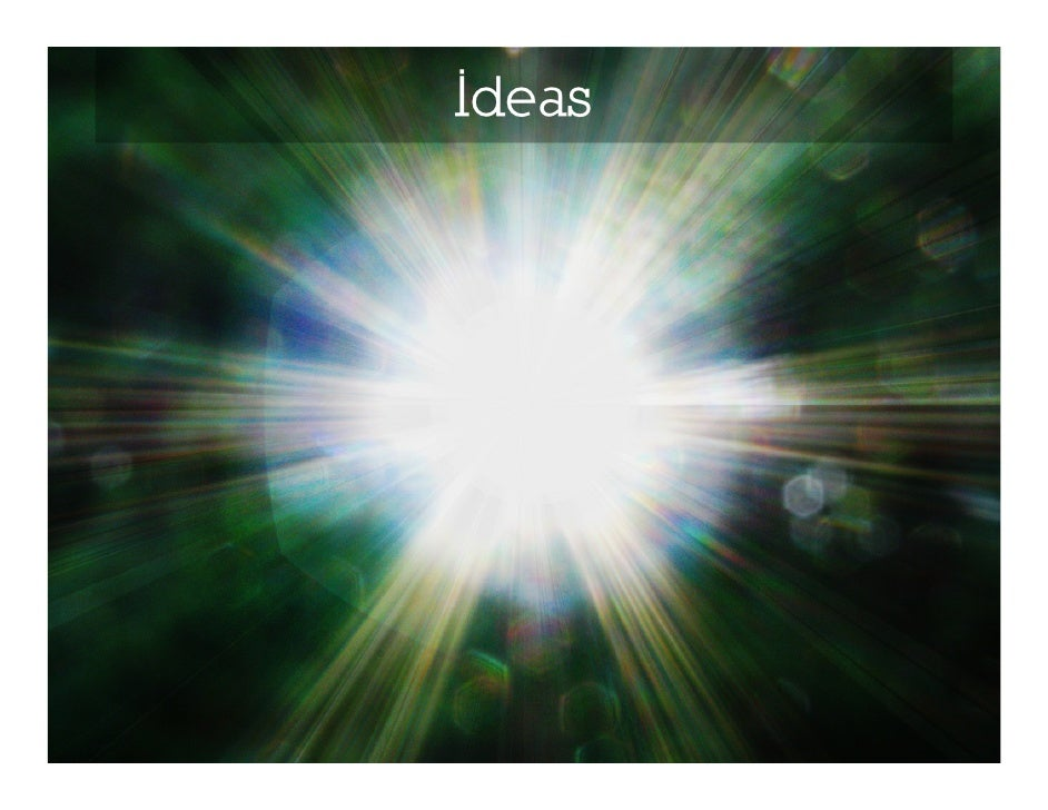 Sweet talk your ideas