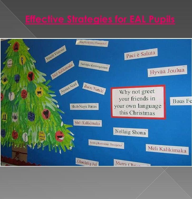 Effective Strategies for EAL Pupils