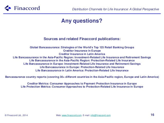 European Steel Manufacturers Sales And Distribution Companies Mail: Presentation: Distribution Channels For Life Insurance, A