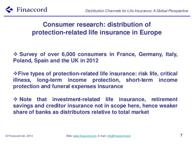Life insurance distribution channels research papers