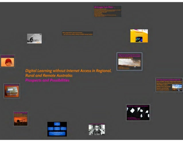 Digital Learning without Internet Access in Regional, Rural and Remote Australia: Prospects and Possibilities