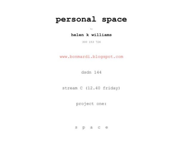 p e r s o n a l s p a c e Proposal • I have decided to focus on the personal space found near the sink in bathrooms... • A...