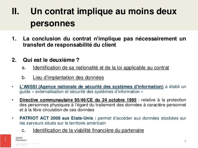 Presentation Du Contrat Saas