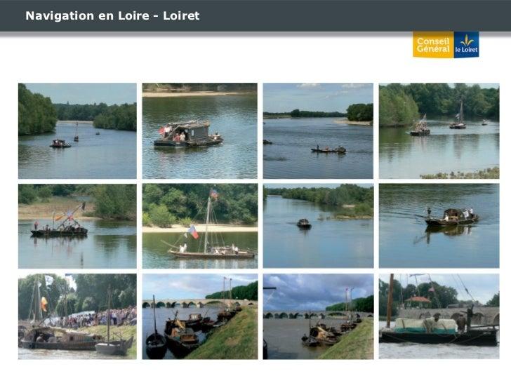 Navigation en Loire - Loiret