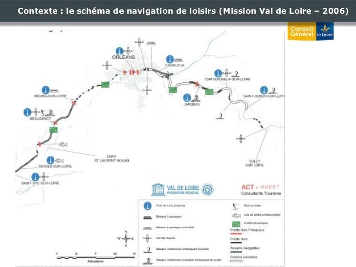 Contexte : le schéma de navigation de loisirs (Mission Val de Loire – 2006)