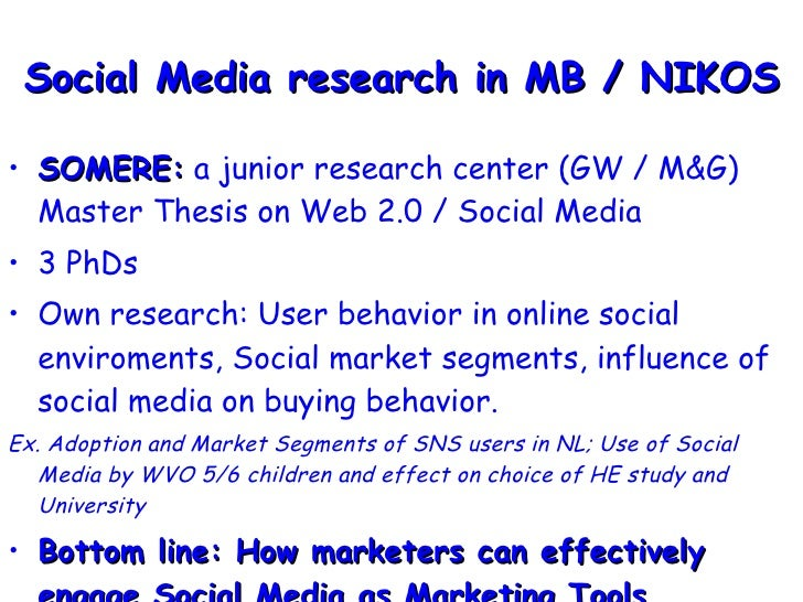 dissertation on web2 marketing Tim o'reilly attempts to clarify just what is meant by web 20 what is web 20 so widespread that companies are now pasting it on as a marketing.