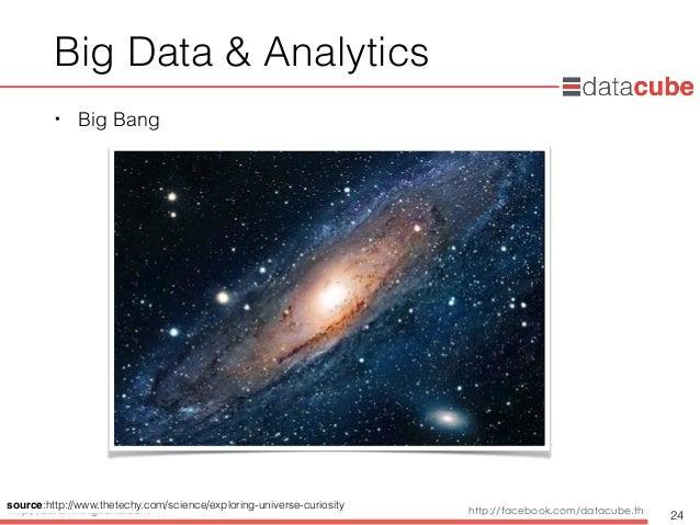 http://dataminingtrend.com http://facebook.com/datacube.th Big Data & Analytics • Big Bang 24 source:http://www.thetechy.c...