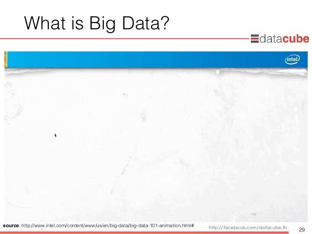 http://dataminingtrend.com http://facebook.com/datacube.th What is Big Data? 29 source: http://www.intel.com/content/www/u...