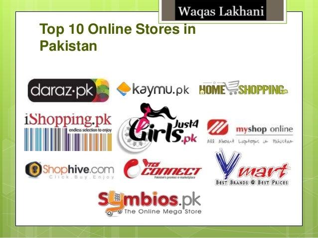 Top 10 Online Stores in Pakistan