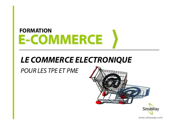 formation commerce  u00e9lectronique